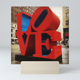 Love Sculpture - NYC Mini Art Print