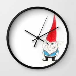 The Gnome Wall Clock