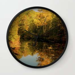 Lake of Colors Wall Clock