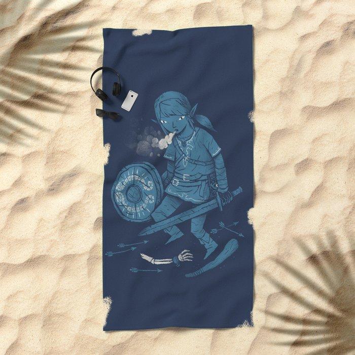 breath of the link Beach Towel