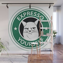 Expresso yourself Wall Mural