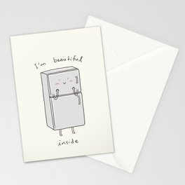 I'm Beautiful Inside Stationery Cards