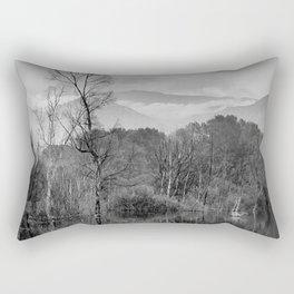 """Mammoth paradise"". Mono. Rectangular Pillow"