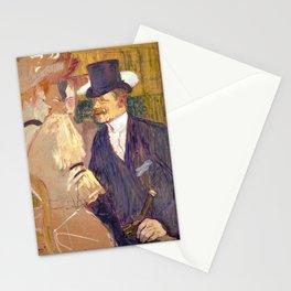 "Henri de Toulouse-Lautrec ""The Englishman (William Tom Warrener, 1861–1934)"" Stationery Cards"