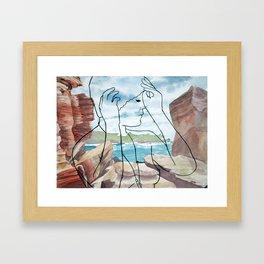 Wylie's Baths Framed Art Print
