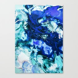 Liquid Abstract Canvas Print