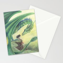 Spring Dragon Stationery Cards