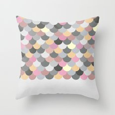 Nordic Combination 15 Throw Pillow