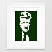 lynch Framed Art Prints featuring Lynch by Ypsilon_bottega