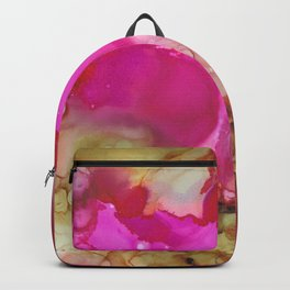 Alcohol Ink 'Avocado Toast' Backpack