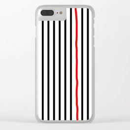 Perfect Lines Clear iPhone Case