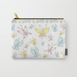 """""""Spring Visit"""" Carry-All Pouch"""