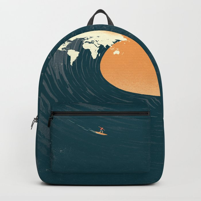 Surfing the World Backpack
