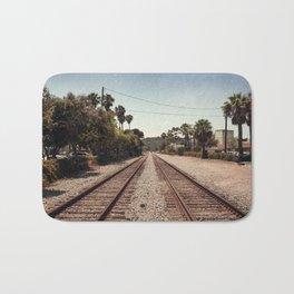Rail Gazing Santa Barbara Bath Mat