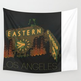 Eastern Columbia Building Los Angeles, California Wall Tapestry