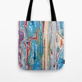 Peeling paint Tote Bag
