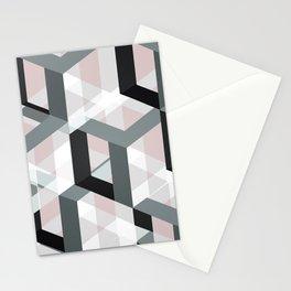 geometric 11 Stationery Cards