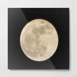 Lunar Beauty 1...Original Photography Metal Print