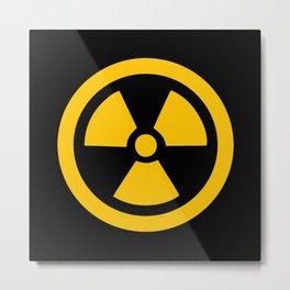 Yellow Radioactive Metal Print
