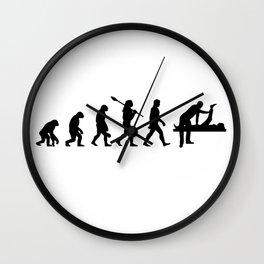 Born To Do Yoga Wall Clock