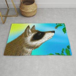 Raccoon and The Beetle Rug