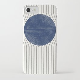 Blue Perfect Balance iPhone Case