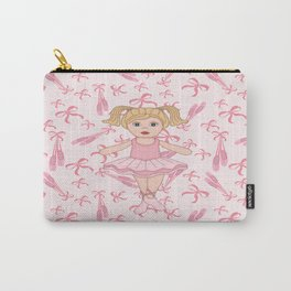 Adorable Ballerina Carry-All Pouch