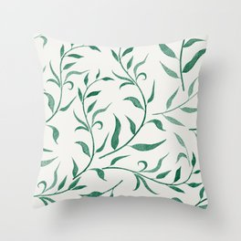 Leaves 4 Throw Pillow