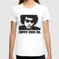 bob dylan T-shirts featuring Bob Dylan by Hippy Hoo Ha