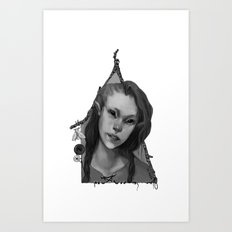Hedge Witch 2 Art Print