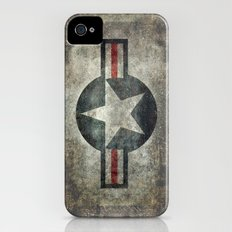 Stylized US Air force Roundel iPhone (4, 4s) Slim Case