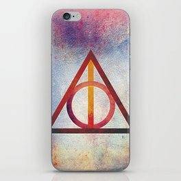 Deathly Hallows - Light iPhone Skin