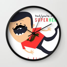 Ltd Edition: This is  father day special Wall Clock