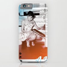 A.H. Collage iPhone 6s Slim Case