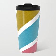 Color Burst Metal Travel Mug