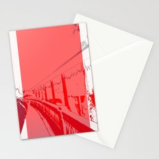 When White is Red, We All Turn Grey in Spokane Stationery Cards