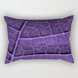 LEAF STRUCTURE ULTRAVIOLET no3 Rectangular Pillow