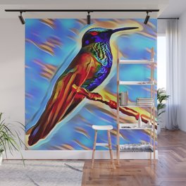The HummingBird Wall Mural