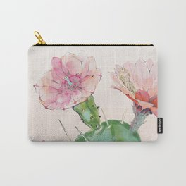 spring cacti flowers Carry-All Pouch