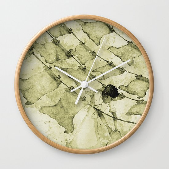 Salt of the earth Wall Clock