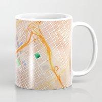 alabama Mugs featuring Birmingham, Alabama by Emily Day