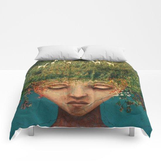 Quietly Wild Comforters