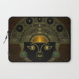 God Sun mask (INTI) Laptop Sleeve