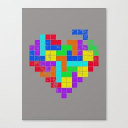 THE GAME OF LOVE Canvas Print