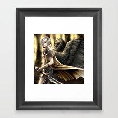 Angel Warrior Framed Art Print