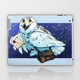 Snowy Owl Messenger Laptop & iPad Skin