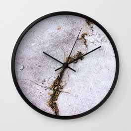 Line in the Sand Wall Clock