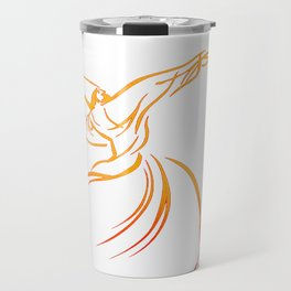 Sema The Dance Of The Whirling Dervish Travel Mug