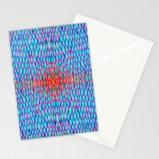 Flowing colors Stationery Cards