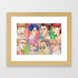 EXO KOKOBOP Framed Art Print